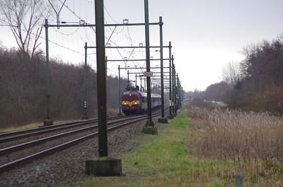 EETC 1254 skitrein Culemborg 9 februari 2014