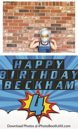Beckham's 4th Birthday