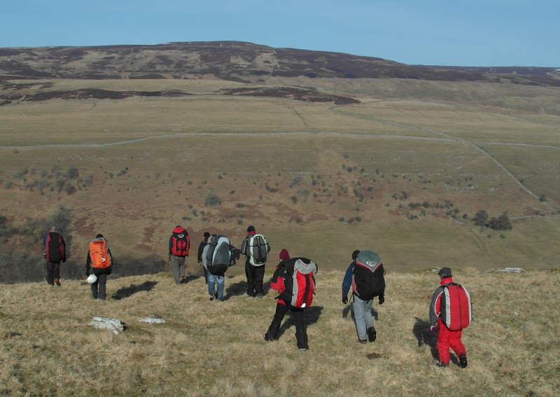 So ..... in true Dales fashion we left the hill to the (b)wave