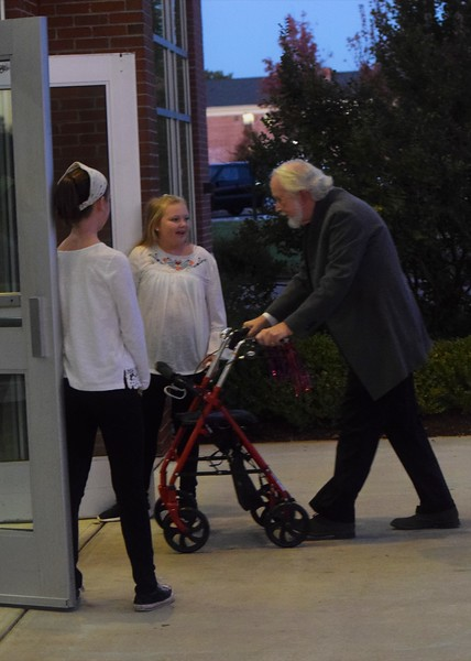 Friday- Dr. Webb makes his way into Tucker