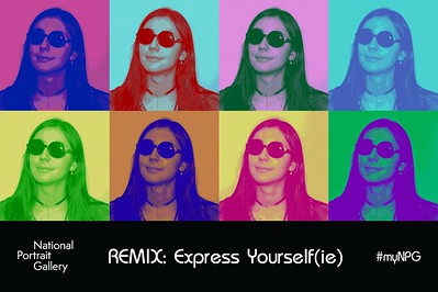 National Portrait Gallery REMIX: Express Yourself(ie)