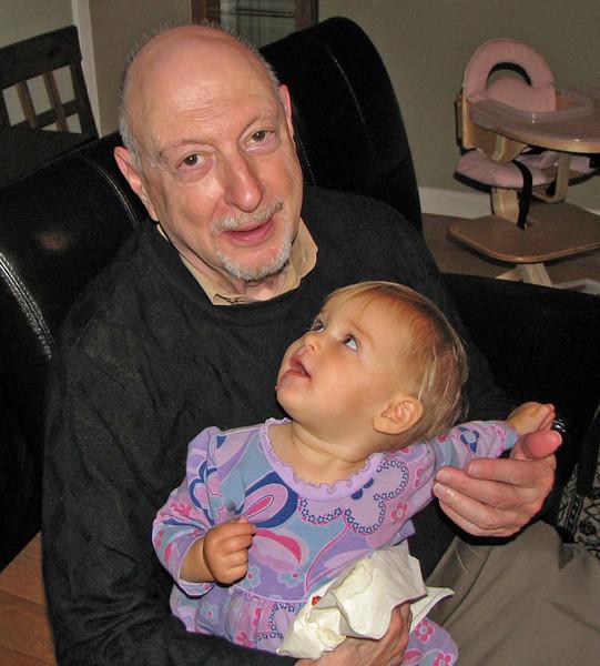 Hazel thanks Zeidi for raspberry