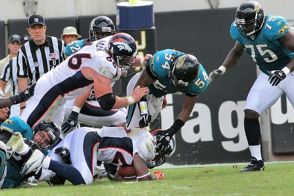 Jaguars vs. Broncos, Oct 2, 2005:  The Game