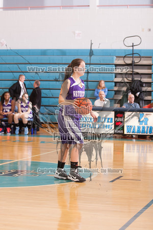 JV Girls Basketball 16Jan14