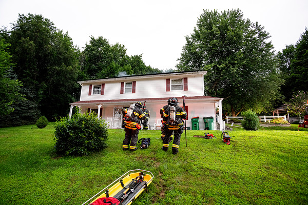 Residential Structure Fire - Rte. 376 East Fishkill  Fire District - 5/25/2021