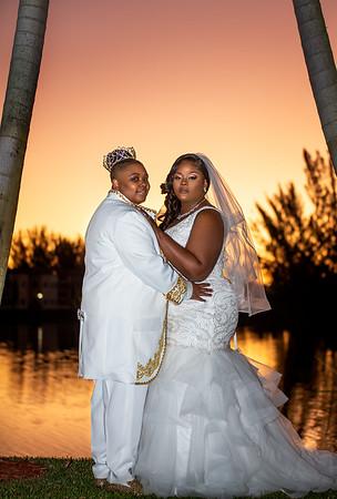 Mrs. & Mrs. Cure Wedding