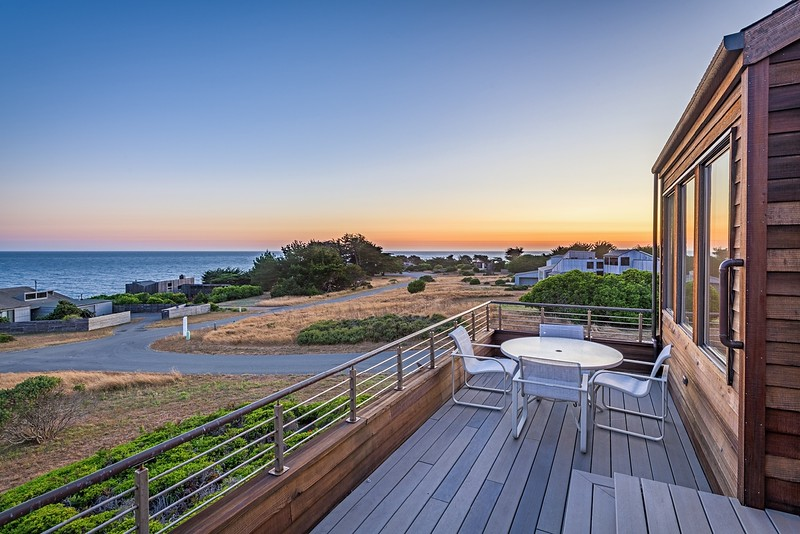 Sunset View for Back Deck