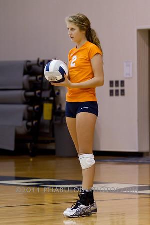 Boone Girls JV Volleyball @ Lake Nona - 2011