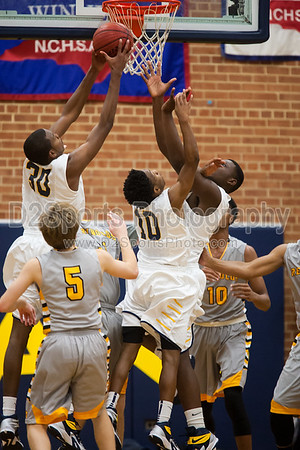 Mount Tabor Spartans vs RJ Reynolds Demons Men's Varsity Basketball 1/6/2015