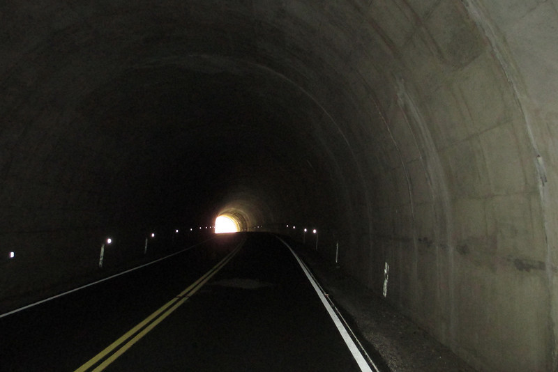 Devil's Courthouse Tunnel -- 5,520'