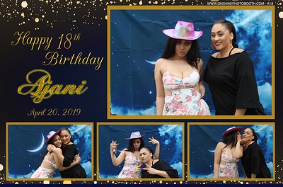 Ajani's 18th Birthday