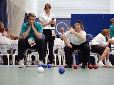 Special Olympics GB National Games 2013 Boccia and Bowls