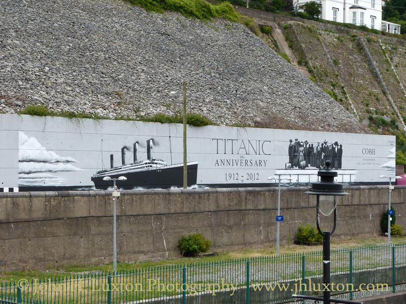 Titanic Mural, Cóbh, County Cork, Eire - August 27, 2013