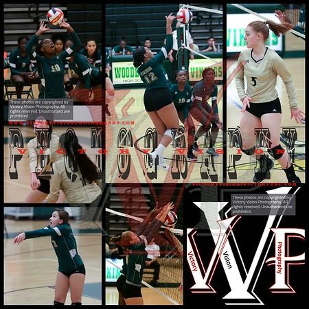 Manassas Park @ Woodbridge Varsity Girls Volleyball 08-14-18 | Scrimmage 2