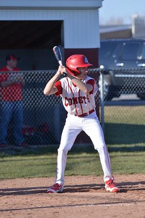 BJV baseball vs Lowville 4-15-16