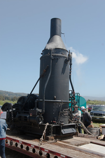 Even steam equipment was on display.