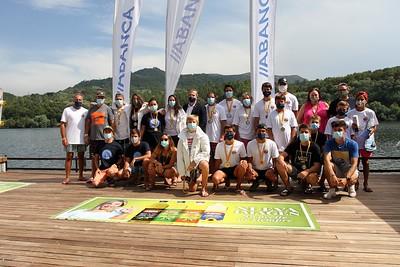 Reparto de premios · Copa de España de Esquí Náutico y Wakersurf