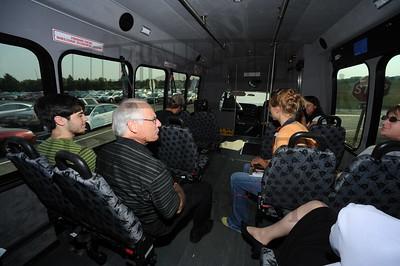 5905 President on the Shuttle 9-22-10