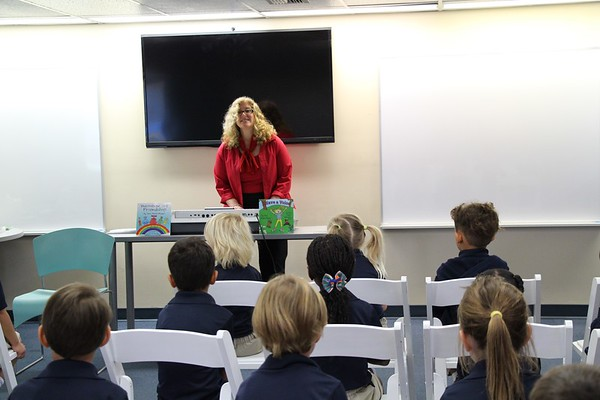 Visit from Author Joni Klein-Higger