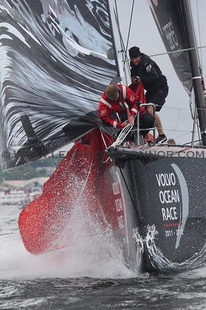 Galway - Inport Race - Volvo Ocean Race 2011-2012