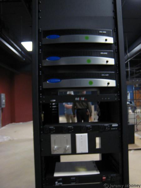 """Front of AV gear for """"The Underground"""""""