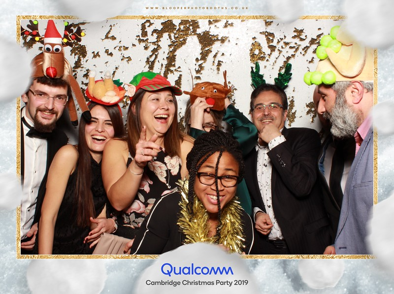 Qualcomm Cambridge Christmas Party 2019