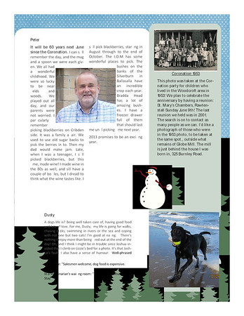 Christmas 2012 Fisher Family Newsletter