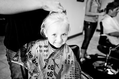 Corinne Haircut 2009