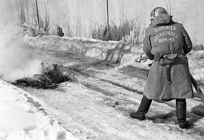 Пожарные к 70 летию апрель 1988г