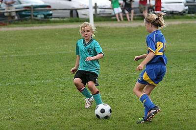 U10 Girls Iroquois SC B vs Milton Stingers