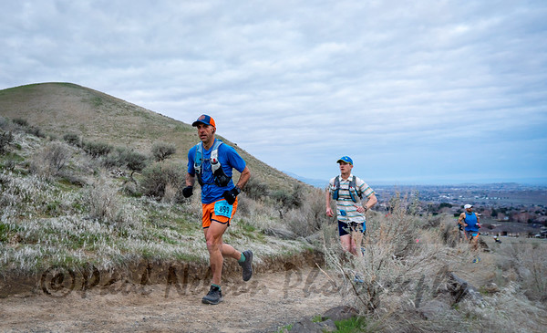 Badger Mountain 50 -100 Start
