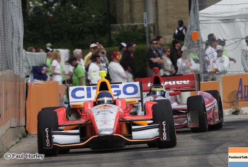 June 2: E.J. Viso during the Chevrolet Detroit Belle Isle Grand Prix.