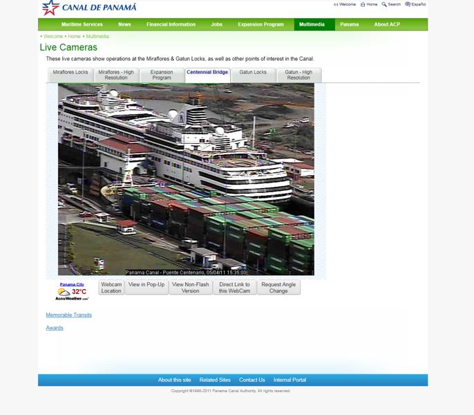 Christina webcam panama canal.PNG