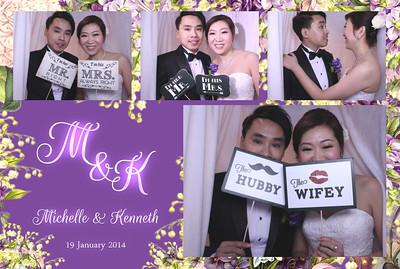 Michelle & Kenneth Wedding 19th Jan 2014