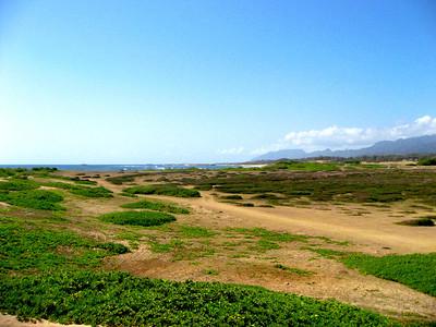 Kahuku Beach walk Adventure, North Shore of O'ahu