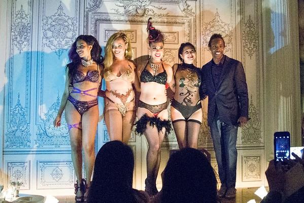 Good time at Duane Park, Burlesque Show - June 2, 2016