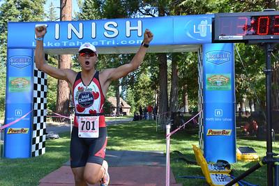 Lake Tahoe Triathlon 2014 Olympic and Half Finish