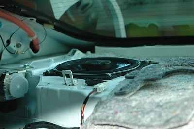 2008 Toyota Camry XLE V6 JBL Premium Audio Rear Speaker Installation