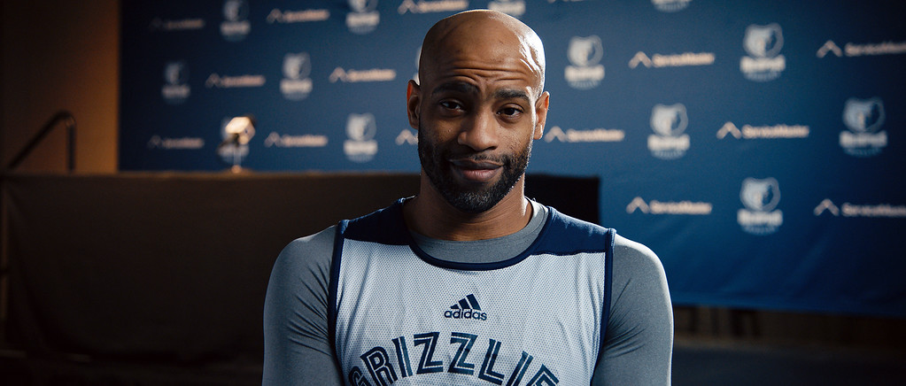 . Courtesy of Cleveland International Film Festival Learn about what the arrival of NBA superstar Vince Carter -- shown here in a Memphis Grizzlies uniform -- meant to the Toronto Raptors in the American-Canadian documentary �The Carter Effect.� Catch at it at CIFF April 13 and 14.