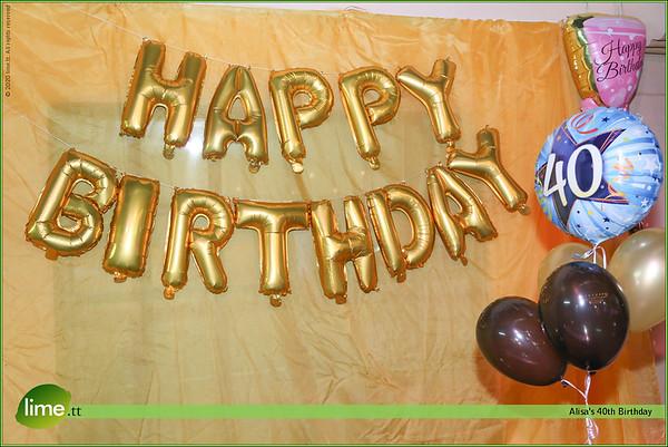Alisa's 40th Birthday