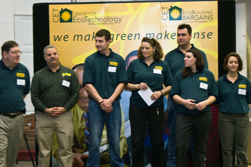 Grand Opening of the EcoBuliding Bagrains Store in Springfiled MA, a division of the CET Center for Ecotechnology