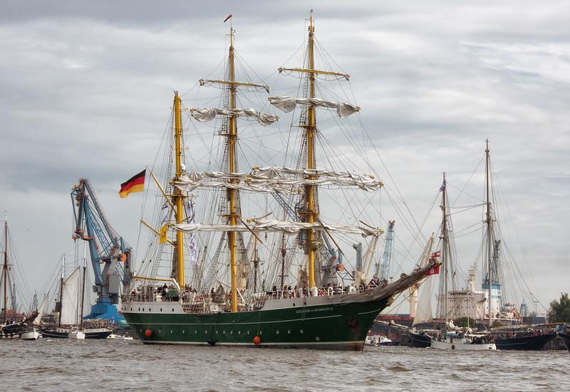 Segelschiff Alexander von Humboldt zwei
