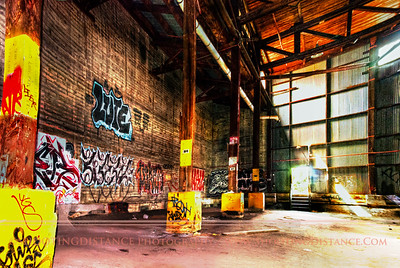 Abandoned Warehouse, Mare Island Naval Shipyard