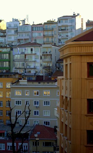 Hillside of residences.