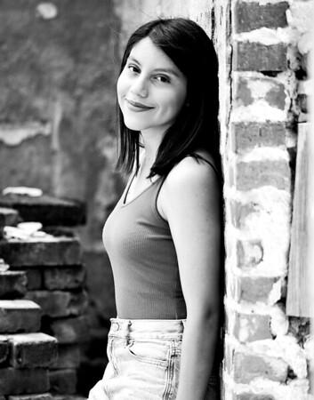 Stephanie Coria - 11x14 Black and White