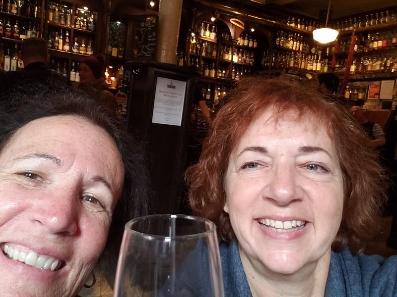 Me & Barbara Robotti at the Pot Still Glasgow