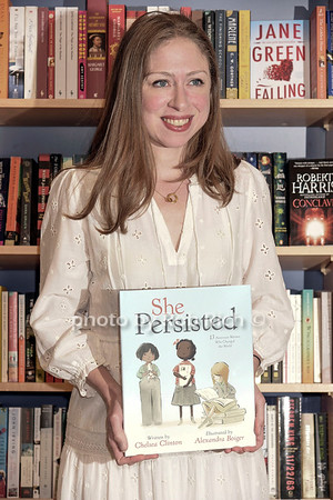 "Chelsea Clinton signs copies of  her new book ""She Persisted""  at the Bookhampton book store in East Hampton on Friday, August 4, 2017. all photos by Rob Rich/SocietyAllure.com ©2017 robrich101@gmail.com 516-676-3939"