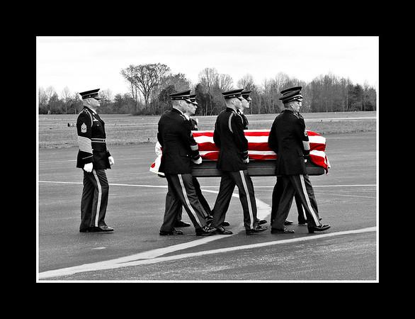 My cousin Sgt. Alexander VanAalten coming home from Afghanistan...