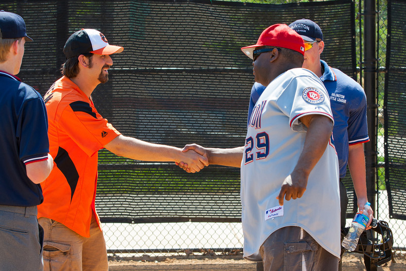 The Nationals struggled on both offense and defense in a 2-11 loss to the Orioles. They are now 7-4 for the season. 2012 Arlington Little League Baseball, Majors Division. Nationals vs Orioles (19 May 2012) (Image taken by Patrick R. Kane on 19 May 2012 with Canon EOS-1D Mark III at ISO 400, f8.0, 1/320 sec and 98mm)