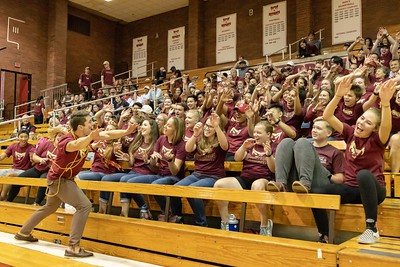 Willamette Volleyball vs. PLU - Sep. 22, 2018